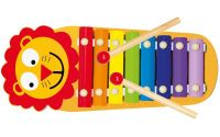Bino Xylofon kovový Lvíček