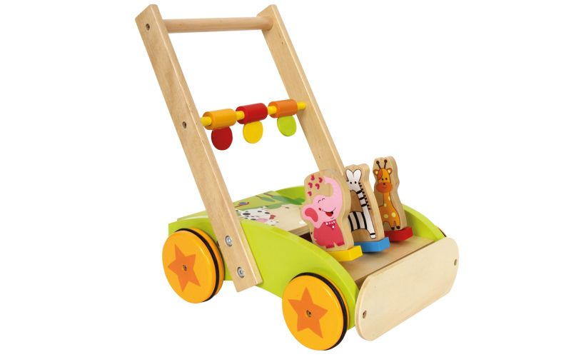 Didaktický vozík Paráda zvířat