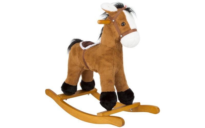 Houpací kůň se sedlem