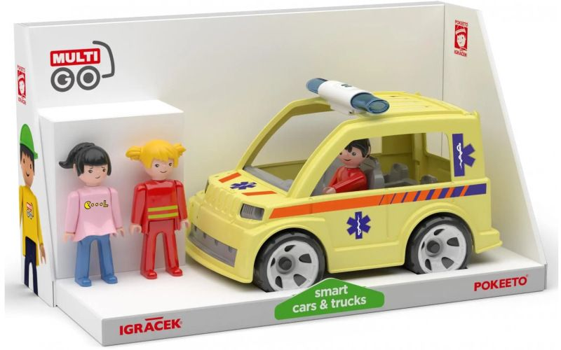 Igráček Multigo Trio Rescue
