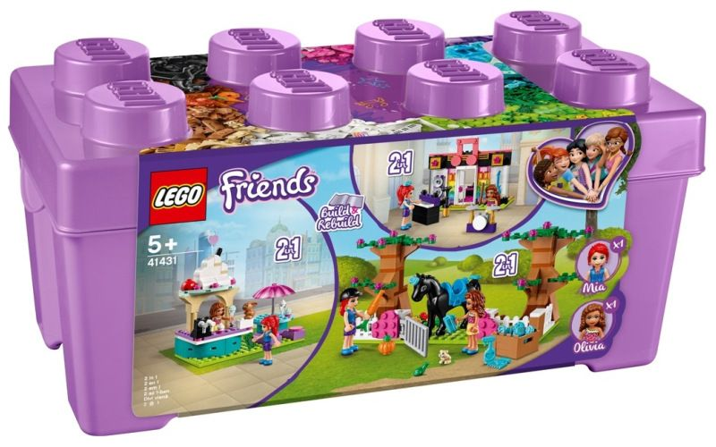 LEGO Friends 41431 Box s kostkami z městečka Heartlake