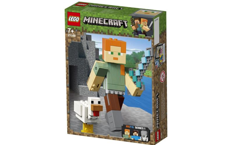 LEGO Minecraft 21149 velká figurka: Alex