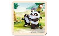 Puzzle Krtek a Panda koloběžka