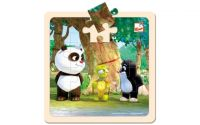 Puzzle Krtek a Panda se želvou