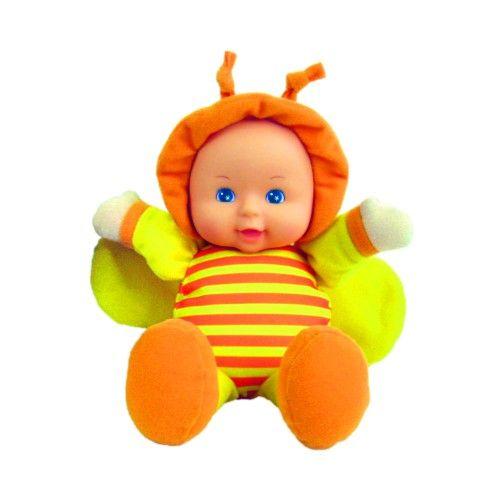 Moje první panenka - oranžová