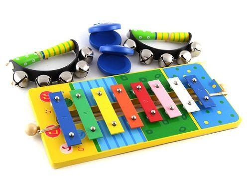 Muzikální set s xylofonem 90723