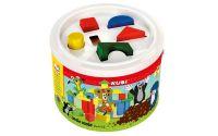 Bino 13734 - Krtek - Kostky v kbelíku 34 dílků