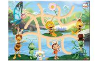 BINO DŘEVO Najdi správnou hlavičku Včelka Mája