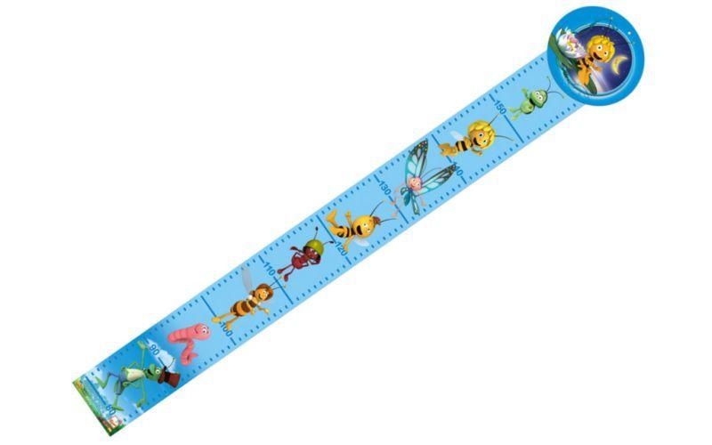 Bino metr Včelka Mája dřevěný modrý