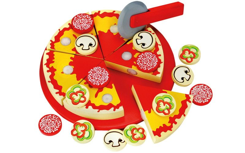 Bino Pizza na krájení