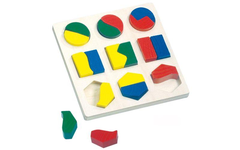 Bino BINO - Puzzle geometrické tvary