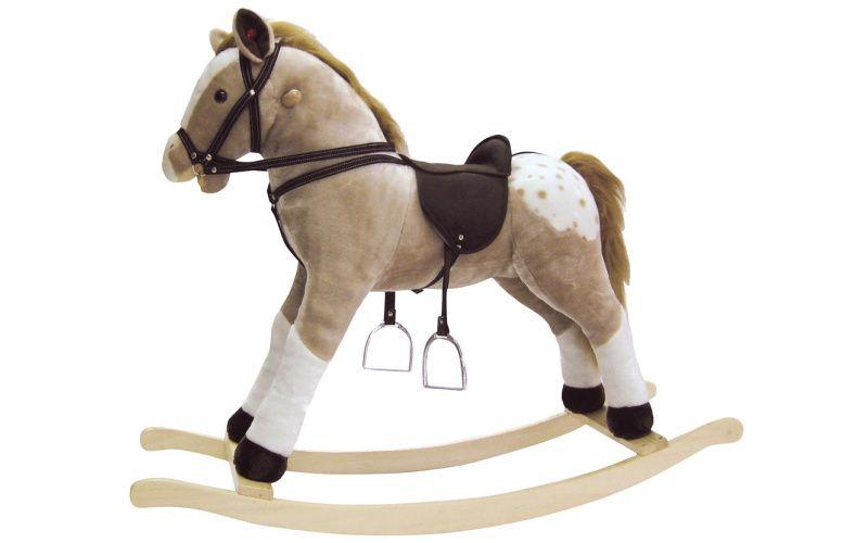 Houpací kůň Puntík plyšový, maxi
