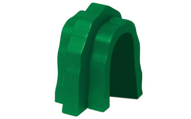 Příslušenství k dráze - tunel - zelený