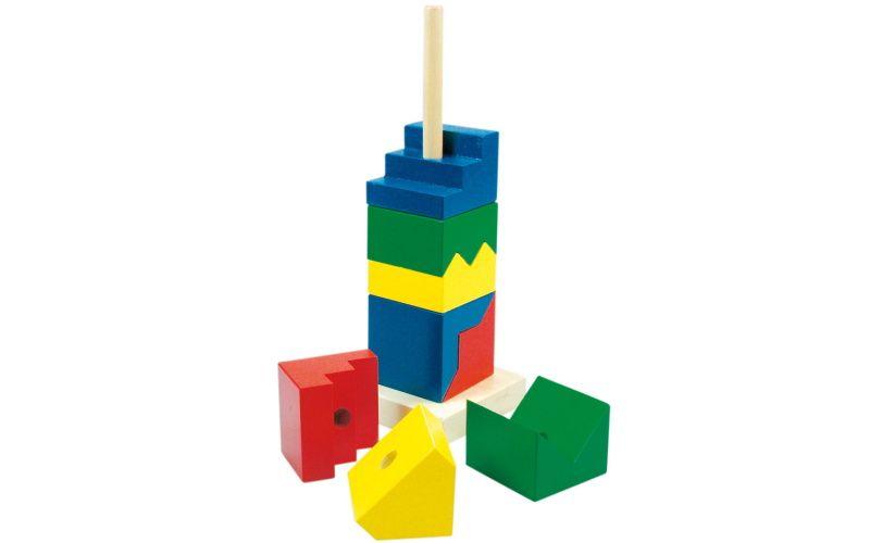 Skládací věž barevná