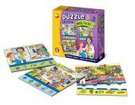 Soubor puzzle 3v1 - Můj svět