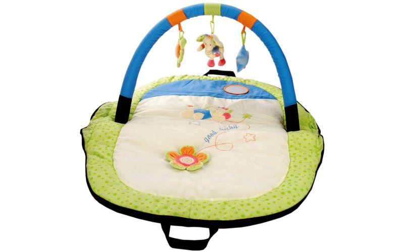 Bino Cestovní hrací deka s hrazdou slon