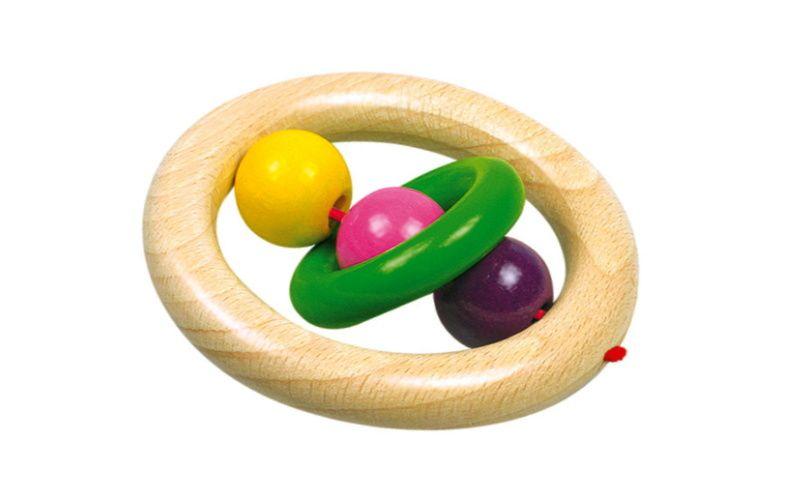 Bino Kroužek do ruky koule s kroužkem Tino