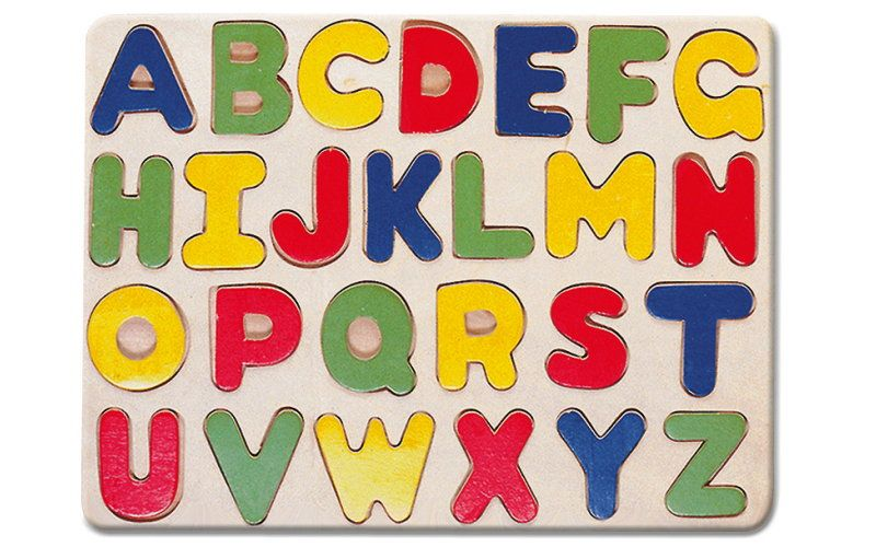 Bino Puzzle - abeceda