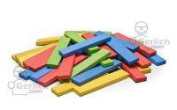 Dřevěné destičky 200 barva