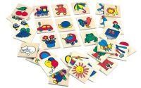 Dřevěné obrázky - značky pro školky 1 - 32 ks