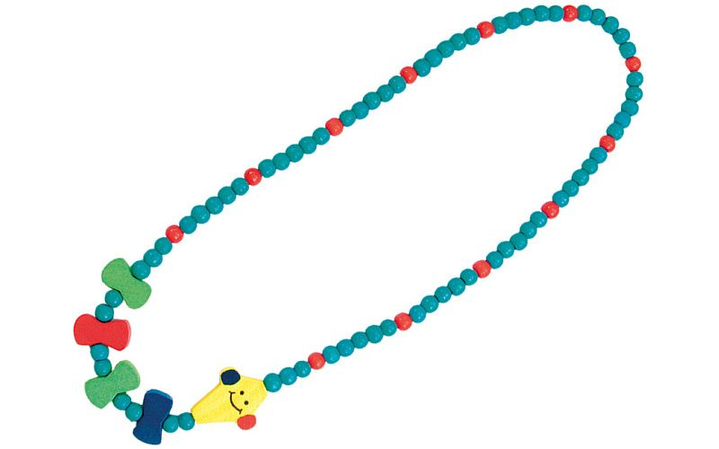 Dřevěný náhrdelník - drak