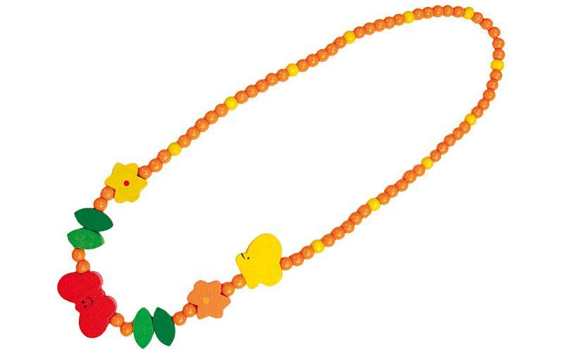 Dřevěný náhrdelník - motýlek