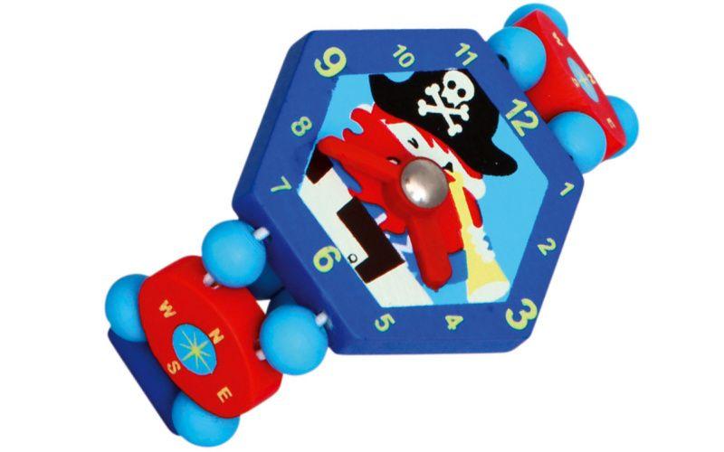 Hodinky pirát - modré