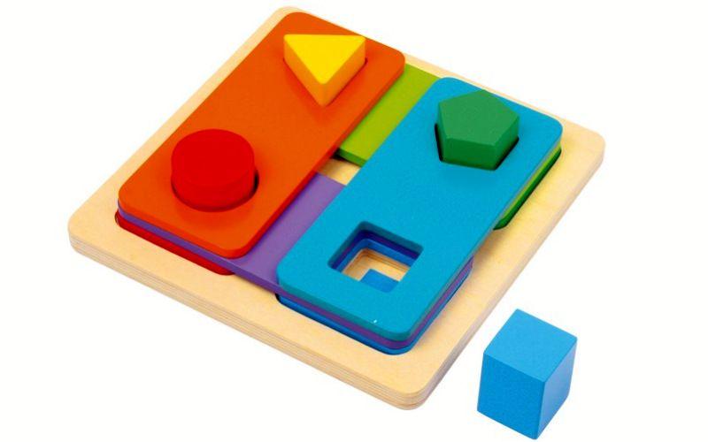 Motorický labyrint - Barvy a tvary
