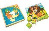 Obrázkové kostky Zvířátka 25 ks