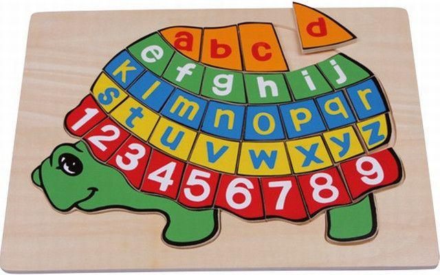 Legler Písmenkové puzzle Želva