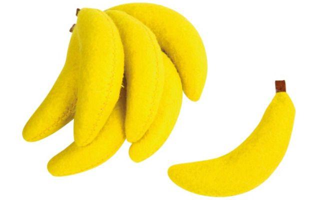 Plstěné banány