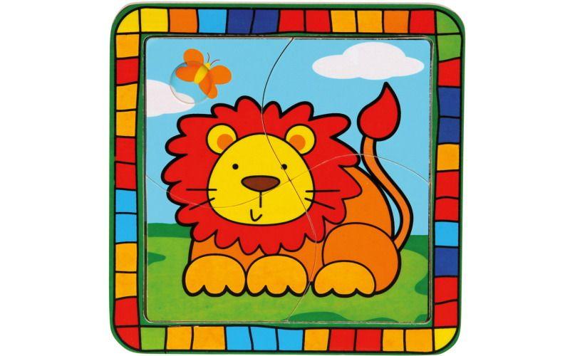 Puzzle lev