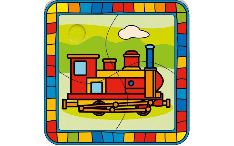 Puzzle lokomotiva