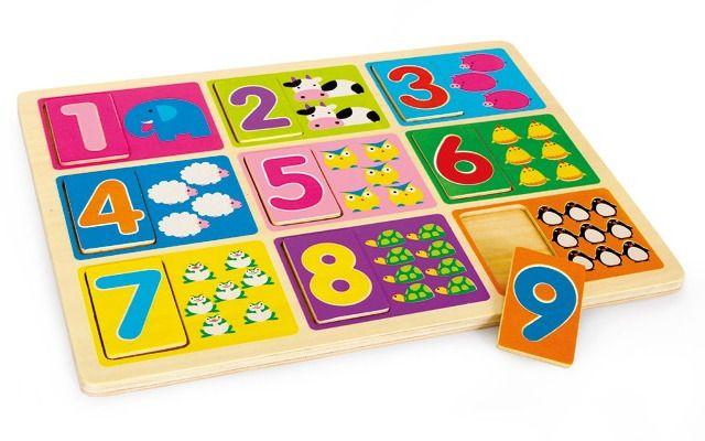 Puzzle Učení čísel