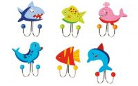 Věšáky Mořská zvířátka