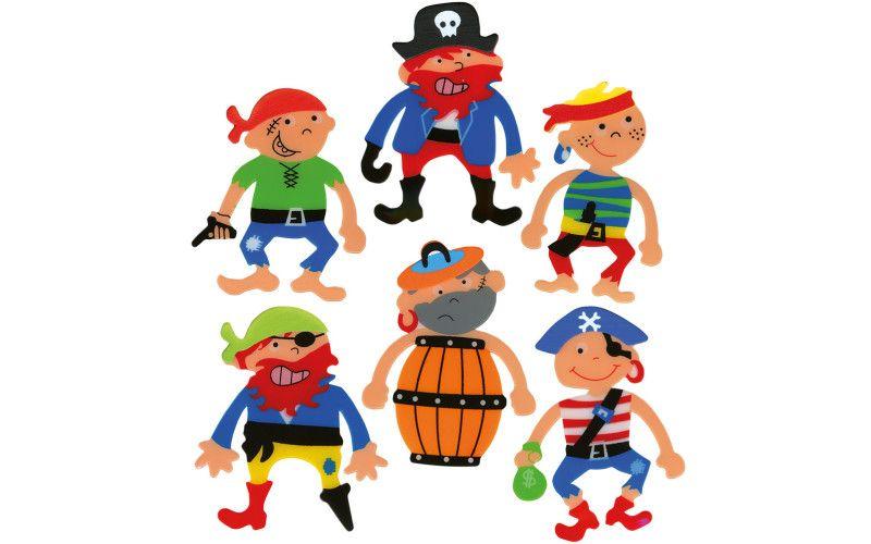 Záložky do knihy - piráti