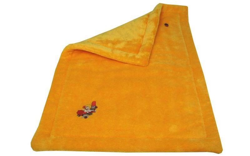 Deka Rumcajs - oranžovožlutá