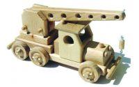 Dřevěný autojeřáb