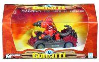 Gormiti-Auto s figurkou 1:24 The Lord of Volcano 1:24
