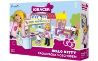IGRÁČEK & HELLO KITTY Prodavačka s obchodem a doplňky