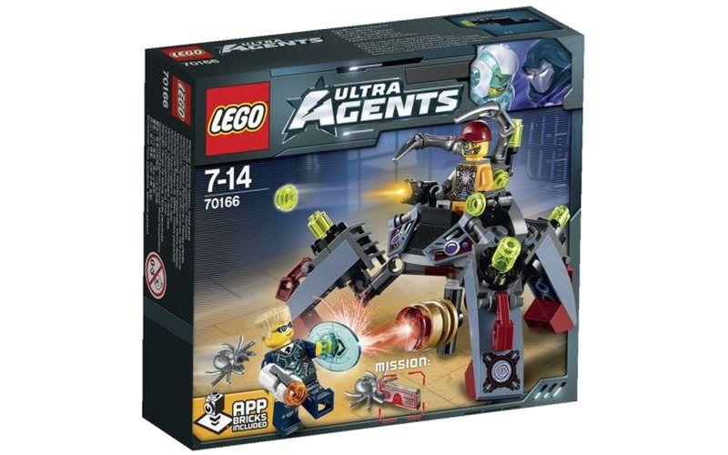Lego LEGO Agents 70166 Nájezd Spyclopse