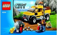 Lego City 4200 Těžba 4x4
