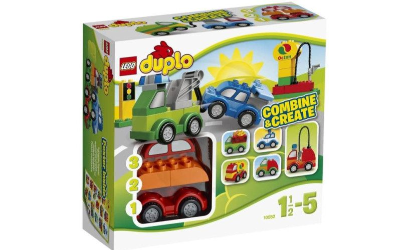 Lego Duplo 10552 Tvořivá autíčka
