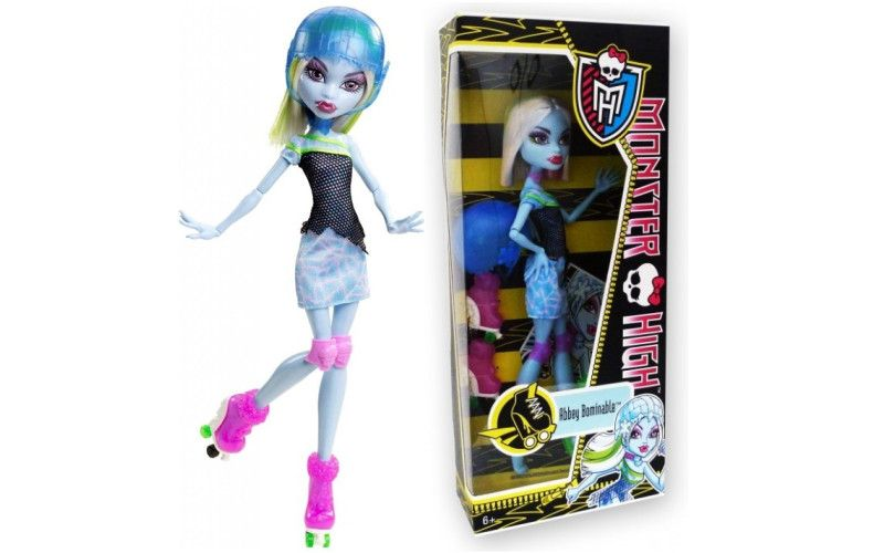 Mattel - Monster High - Příšerky sport Abbey Bominable X3671