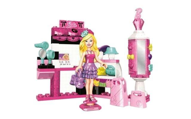 Mega Bloks Micro Barbie módní salon