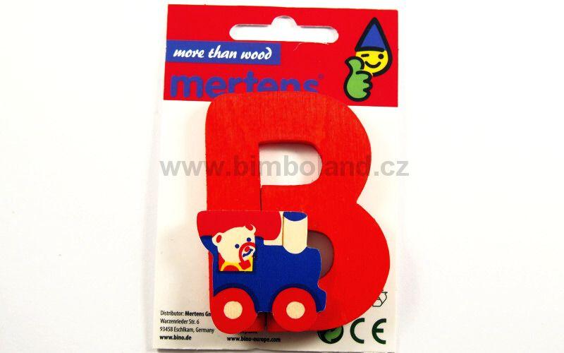 Písmeno s medvědem B