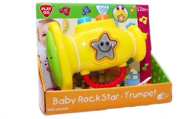 Playgo Baby Rock Star Trumpeta