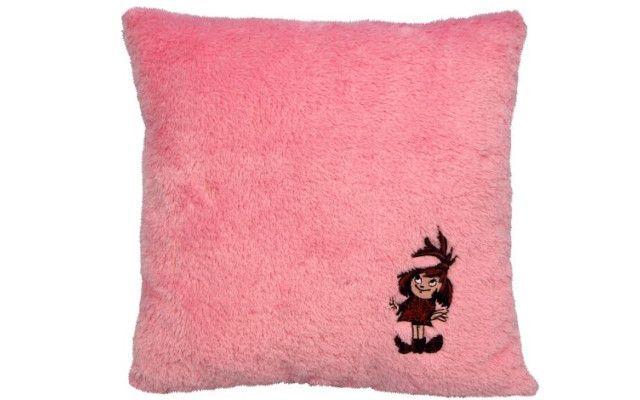 Polštář Malá čarodějnice - růžový