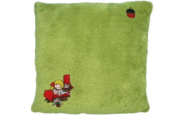 Polštář Rumcajs - zelenožlutý