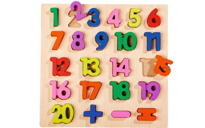 Puzzle čísla 1 až 20
